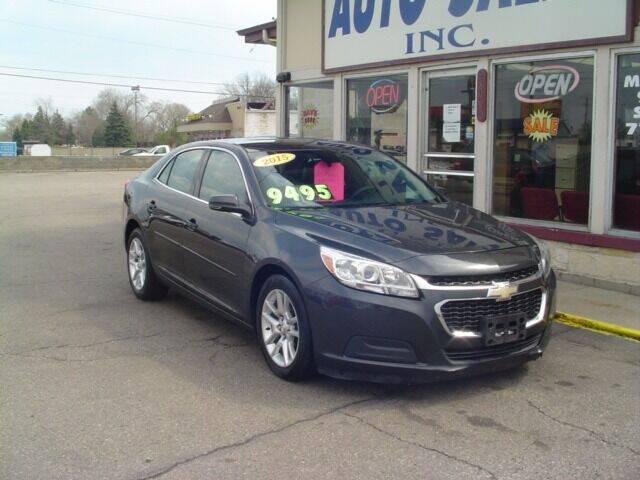2015 Chevrolet Malibu for sale at G & L Auto Sales Inc in Roseville MI