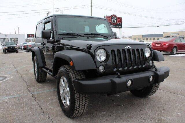 2014 Jeep Wrangler for sale at B & B Car Co Inc. in Clinton Twp MI