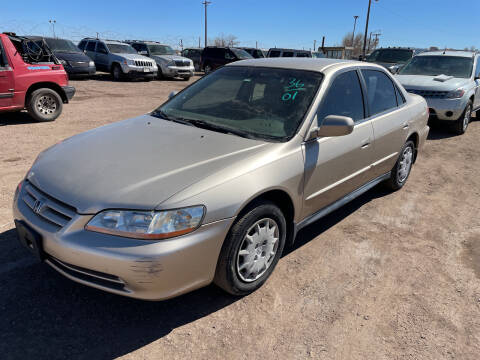 2001 Honda Accord for sale at PYRAMID MOTORS - Fountain Lot in Fountain CO