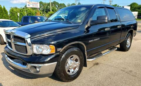 2004 Dodge Ram Pickup 2500 for sale at Auto and Cycle Brokers of Tidewater in Norfolk VA