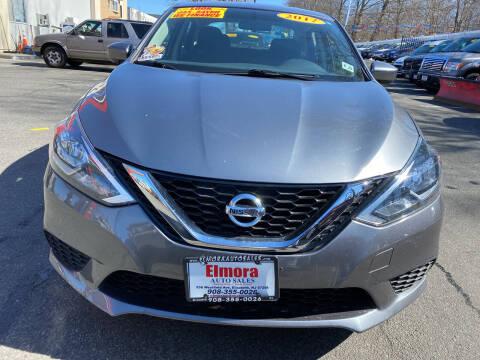 2017 Nissan Sentra for sale at Elmora Auto Sales in Elizabeth NJ
