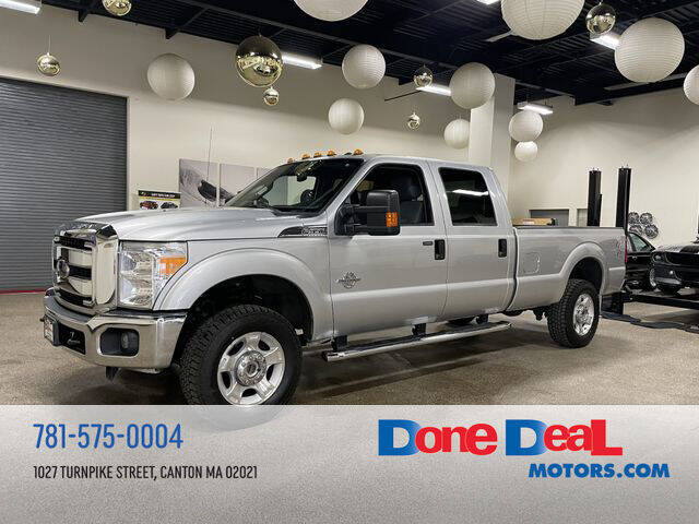 2016 Ford F-350 Super Duty for sale at DONE DEAL MOTORS in Canton MA