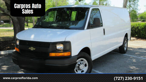 2016 Chevrolet Express Cargo for sale at Carpros Auto Sales in Largo FL