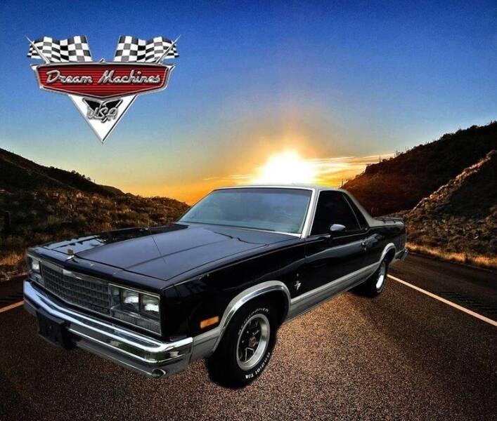 1984 Chevrolet El Camino for sale at Dream Machines USA in Lantana FL