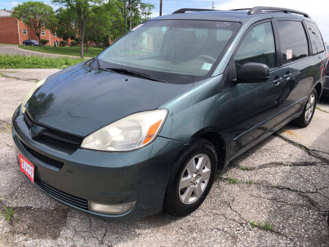 2004 Toyota Sienna for sale at Sonny Gerber Auto Sales in Omaha NE