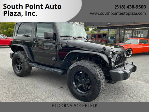 2014 Jeep Wrangler for sale at South Point Auto Plaza, Inc. in Albany NY