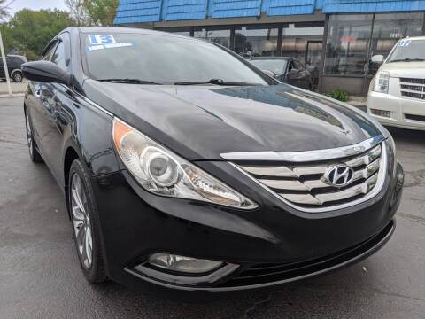 2013 Hyundai Sonata for sale at GREAT DEALS ON WHEELS in Michigan City IN