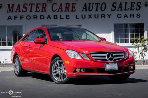 2010 Mercedes-Benz E-Class for sale at Mastercare Auto Sales in San Marcos CA
