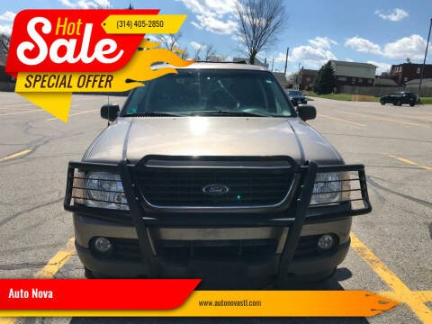 2002 Ford Explorer for sale at Auto Nova in St Louis MO