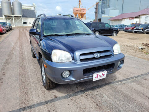 2005 Hyundai Santa Fe for sale at J & S Auto Sales in Thompson ND