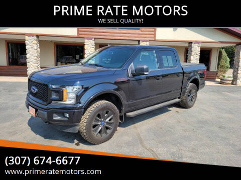 2020 Ford F-150 for sale at PRIME RATE MOTORS in Sheridan WY