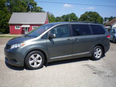 2014 Toyota Sienna for sale at Starrs Used Cars Inc in Barnesville OH