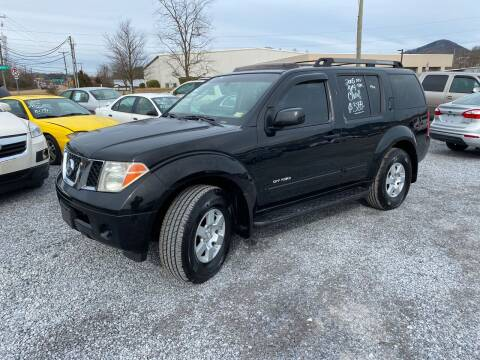 2005 Nissan Pathfinder for sale at Bailey's Auto Sales in Cloverdale VA