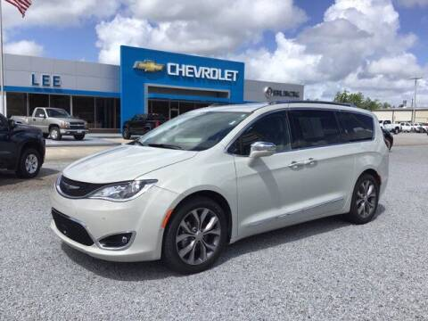 2019 Chrysler Pacifica for sale at LEE CHEVROLET PONTIAC BUICK in Washington NC