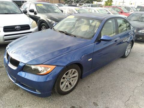 2007 BMW 3 Series for sale at P S AUTO ENTERPRISES INC in Miramar FL