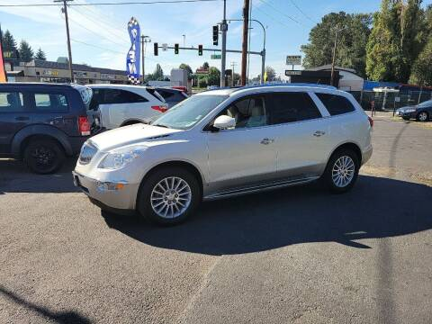 2009 Buick Enclave for sale at Bonney Lake Used Cars in Puyallup WA