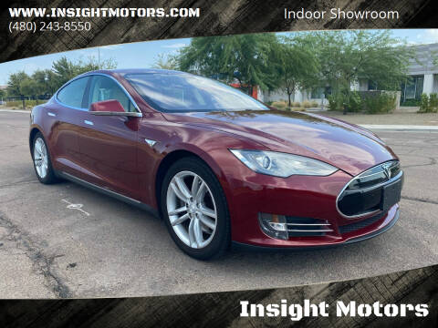 2012 Tesla Model S for sale at Insight Motors in Tempe AZ