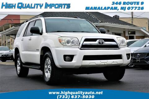 2006 Toyota 4Runner for sale at High Quality Imports in Manalapan NJ