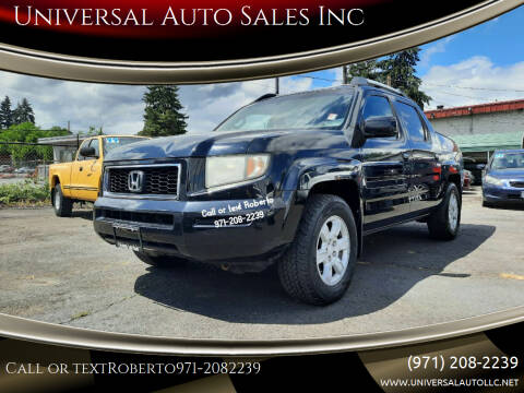 2006 Honda Ridgeline for sale at Universal Auto Sales Inc in Salem OR