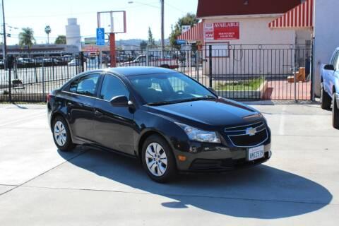 2014 Chevrolet Cruze for sale at Car 1234 inc in El Cajon CA
