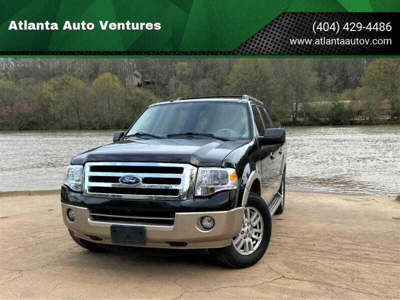 2014 Ford Expedition EL for sale at Atlanta Auto Ventures in Roswell GA