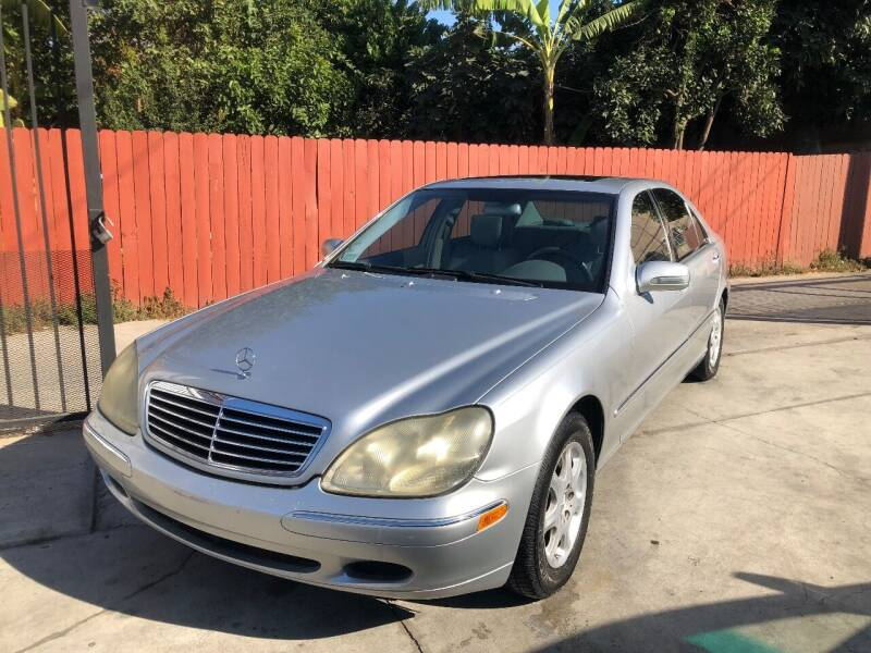 2000 Mercedes-Benz S-Class for sale at The Lot Auto Sales in Long Beach CA