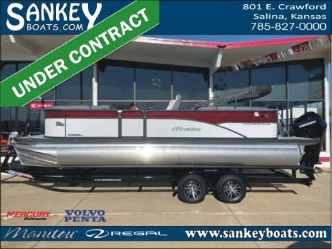 2021 Manitou 23 Aurora LE RF VPII for sale at SankeyBoats.com in Salina KS