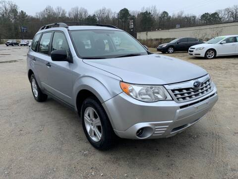 2012 Subaru Forester for sale at Hwy 80 Auto Sales in Savannah GA