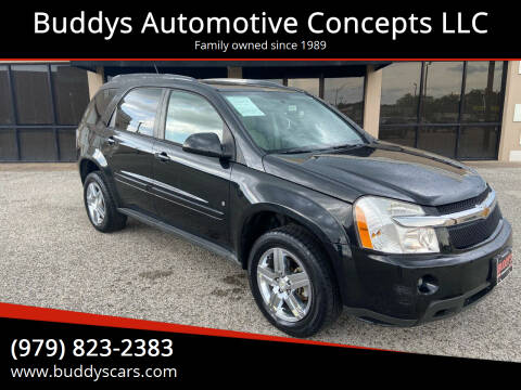 2008 Chevrolet Equinox for sale at Buddys Automotive Concepts LLC in Bryan TX