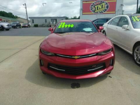 2017 Chevrolet Camaro for sale at AUTOPLEX 528 LLC in Huntsville AL