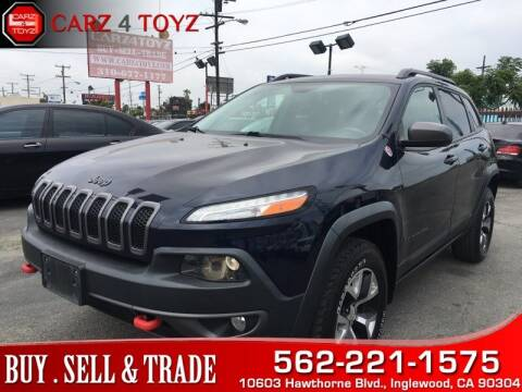 2015 Jeep Cherokee for sale at Carz 4 Toyz in Inglewood CA