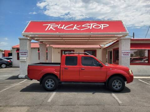 2004 Nissan Frontier for sale at TRUCK STOP INC in Tucson AZ