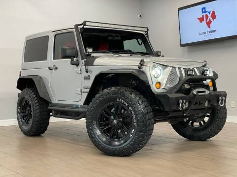 2012 Jeep Wrangler for sale at TX Auto Group in Houston TX