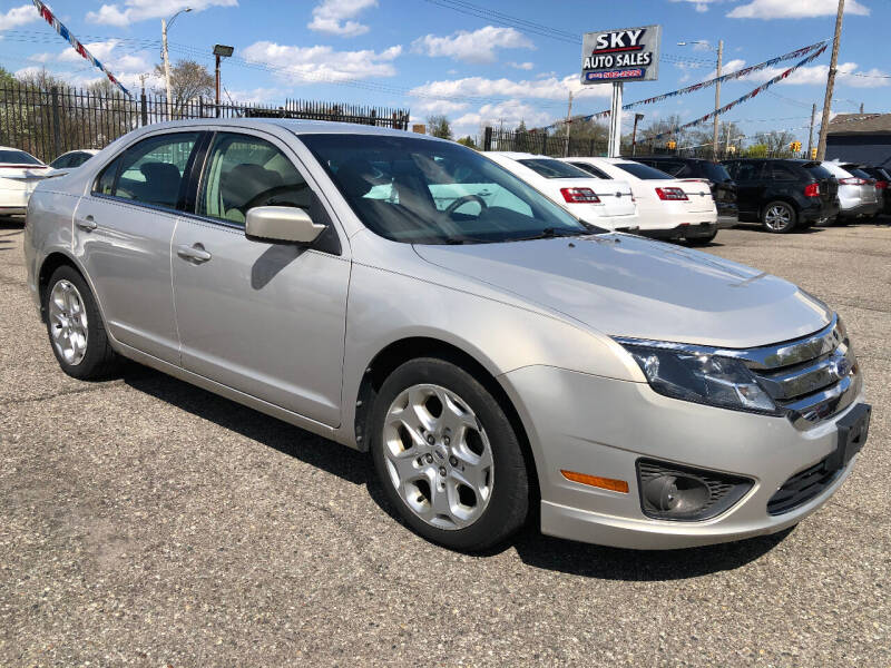 2010 Ford Fusion for sale at SKY AUTO SALES in Detroit MI