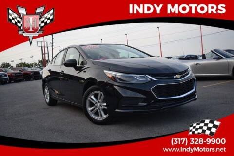 2017 Chevrolet Cruze for sale at Indy Motors Inc in Indianapolis IN