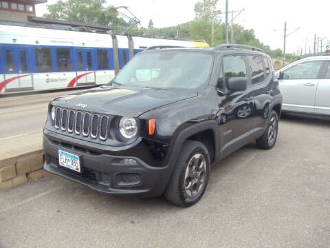 2017 Jeep Renegade for sale at Metro Motor Sales in Minneapolis MN