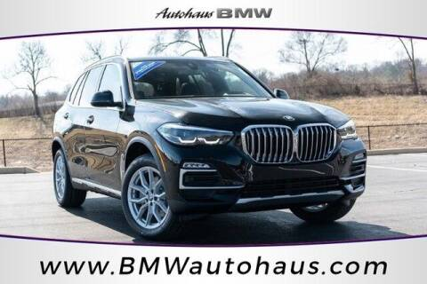 2021 BMW X5 for sale at Autohaus Group of St. Louis MO - 3015 South Hanley Road Lot in Saint Louis MO