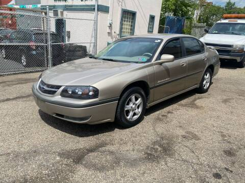 2003 Chevrolet Impala for sale at MG Auto Sales in Pittsburgh PA