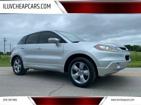 2007 Acura RDX for sale at ILUVCHEAPCARS.COM in Tulsa OK
