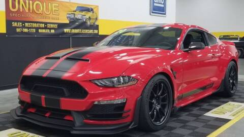 2020 Ford Mustang for sale at UNIQUE SPECIALTY & CLASSICS in Mankato MN