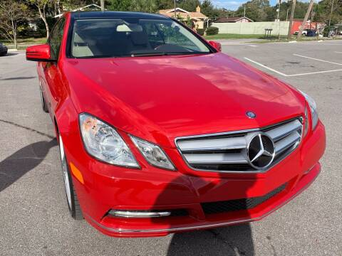 2012 Mercedes-Benz E-Class for sale at Consumer Auto Credit in Tampa FL