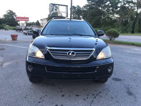 2008 Lexus RX 400h for sale at ATLANTA AUTO WAY in Duluth GA