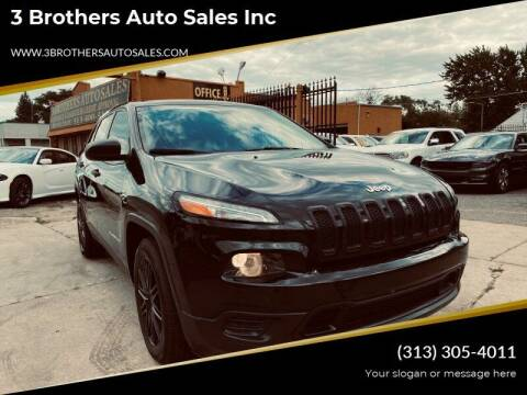 2015 Jeep Cherokee for sale at 3 Brothers Auto Sales Inc in Detroit MI