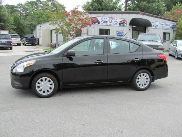 2015 Nissan Versa for sale at Pure 1 Auto in New Bern NC