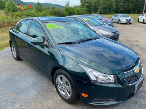 2014 Chevrolet Cruze for sale at Hillside Motors in Campbell NY