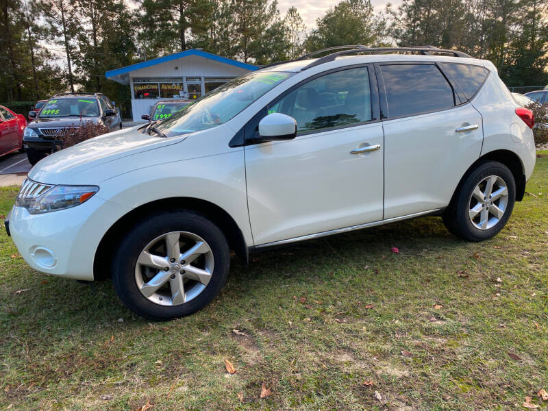 2009 Nissan Murano for sale at TOP OF THE LINE AUTO SALES in Fayetteville NC