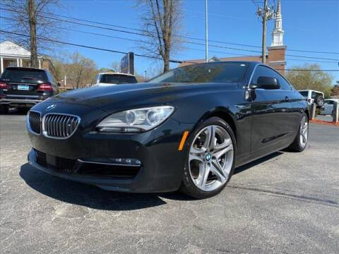 2012 BMW 6 Series for sale at iDeal Auto in Raleigh NC
