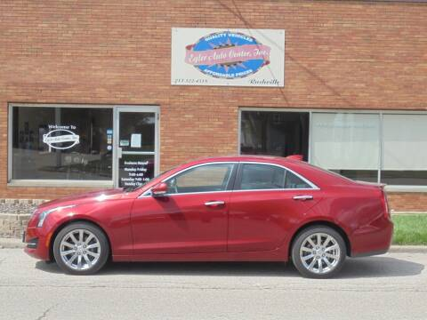 2017 Cadillac ATS for sale at Eyler Auto Center Inc. in Rushville IL