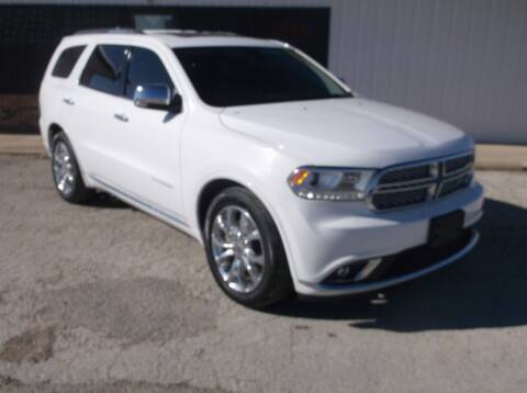 2016 Dodge Durango for sale at AUTO TOPIC in Gainesville TX
