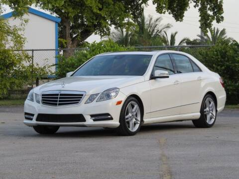2013 Mercedes-Benz E-Class for sale at DK Auto Sales in Hollywood FL